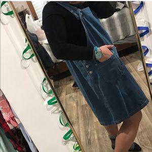 Dresses & Skirts - VINTAGE denim jumper